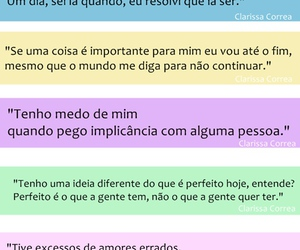 amores, frases, and clarissa corrêa image