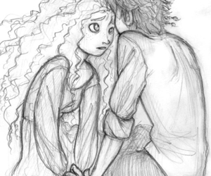 love u, merida, and hiccup image