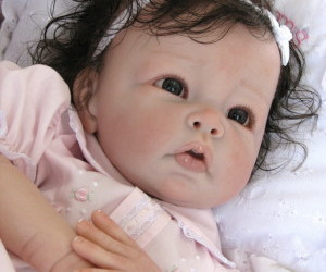 baby, doll, and Reborn image