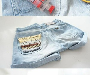 diy, shorts, and fashion image