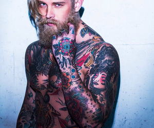 guy, HOTTEST, and tattoo image