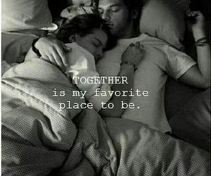 blackandwhite, cuddle, and together image