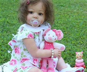 doll, Reborn, and baby image