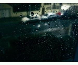 paris, rainy, and rain image