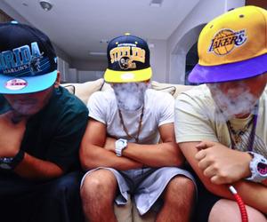 swag, boy, and smoke image