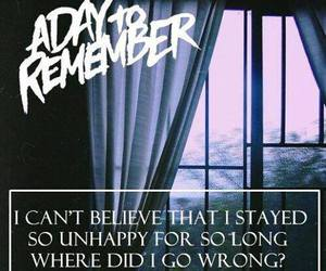 band, Lyrics, and a day to remember image