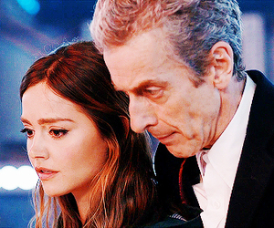 doctor who, peter capaldi, and jenna louise coleman image