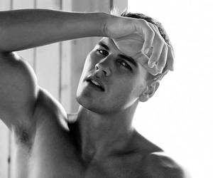 black and white, sexy, and boy image