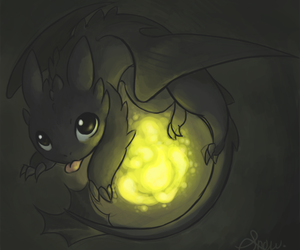 toothless and how to train your dragon image