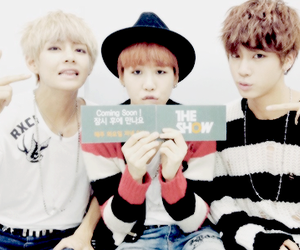 jin, v, and suga image