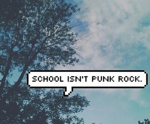 school, punk, and grunge image