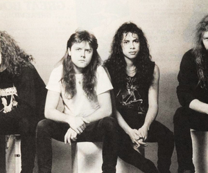 Jason Newsted, lars ulrich, and James Hetfield image