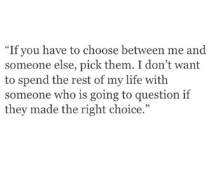 quote, choice, and me image