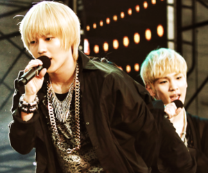 key, Taemin, and SHINee image
