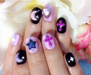 kawaii, nail art, and pastel image