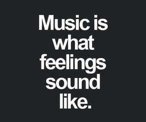 music, feelings, and quotes image