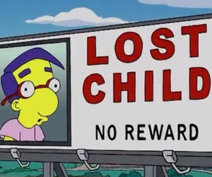 simpsons, funny, and lost image