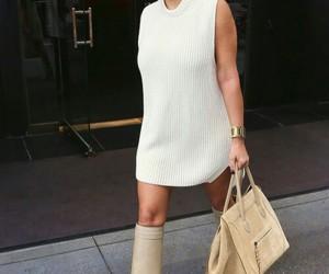 kim kardashian, style, and dress image