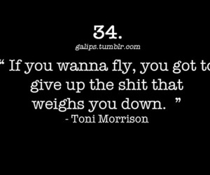 black and white, fly, and quote image