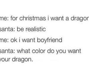 christmas, boyfriend, and dragon image