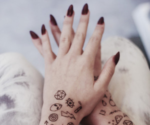 girl, woman, and hands image