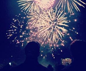 fireworks, christmas, and night image
