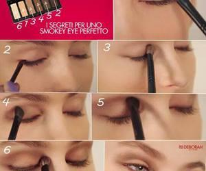 eyeshadow, makeup, and smokey eyes image