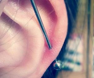 cool, earing, and industrial image