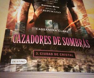 book, the mortal instruments, and city of glass image