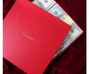 money, cartier, and luxury image