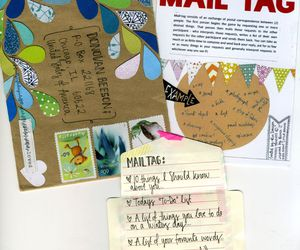 inspiration, snail mail, and mail art image