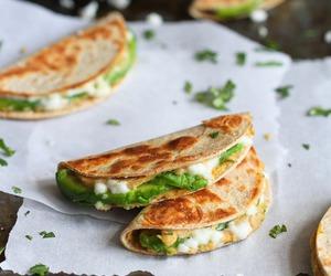 food, delicious, and avocado image