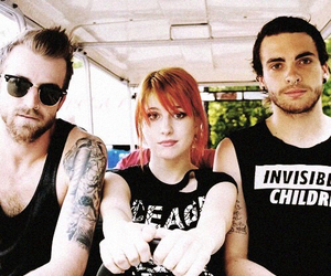 hayley williams, taylor york, and jeremy davis image