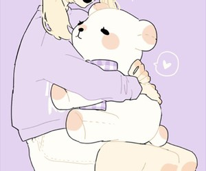 cute, kawaii, and pastel image