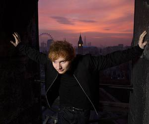 ed sheeran and london image