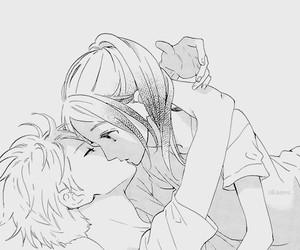 manga, kiss, and hirunaka no ryuusei image