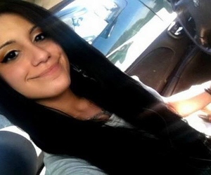 black hair, smiles, and me image
