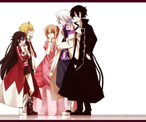 pandora hearts, gilbert nightray, and alice baskerville image
