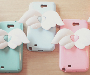 cute, case, and pink image