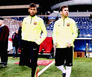 lionel messi, neymar, and soccer image