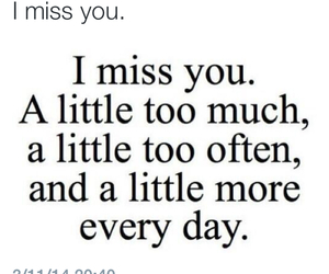 couples, miss you, and quotes image