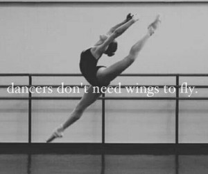 dance, dancer, and wings image