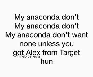 anaconda, funny, and alex from target image