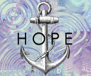 anchor, edit, and hope image