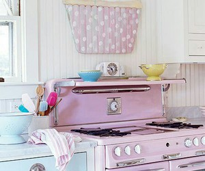 pastel, cupcake, and kitchen image