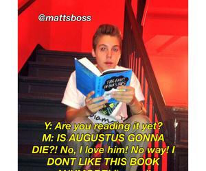 sweet, the fault in our stars, and matthew espinosa image