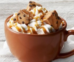 Cookies, chocolate, and hot chocolate image