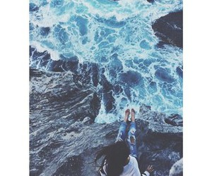 hipster, ocean, and tumblr image