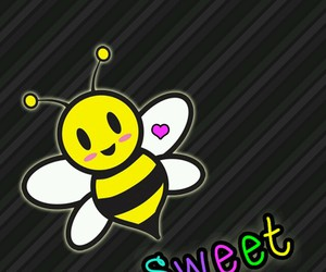 bee, wallpaper, and cute image