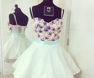 cute dress, pink, and dress image